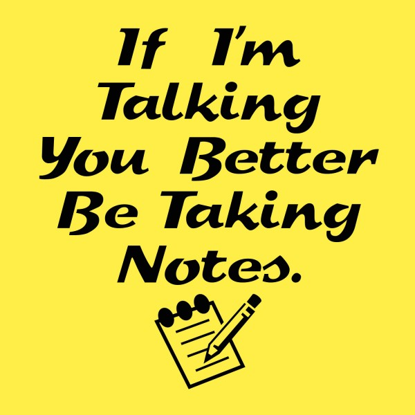 Image result for take notes