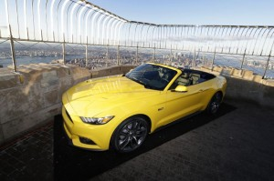 Ford-unveils-50th-anniversary-Mustang-atop-the-Empire-State-Building