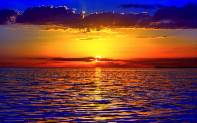 sea-ocean-horizon-sky-clouds-dawn-sunset-nature