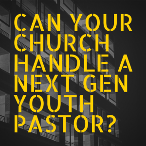 Can your church handle hiring next gen