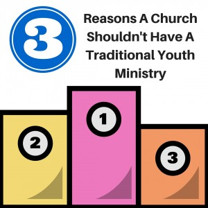 Reason A Church Should Not Have A Yoth Ministry-1